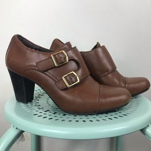 CLARKS | Bendables 6.5 Brown Leather